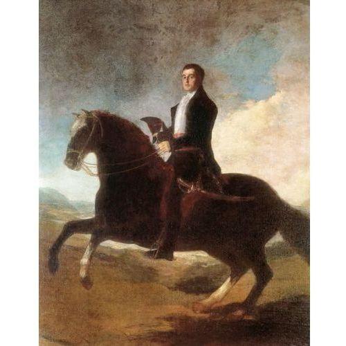 Reprodukcja Equestrian Portrait of the Ist Duke of Wellington 1810s Francisco Goya z kategorii Obrazy
