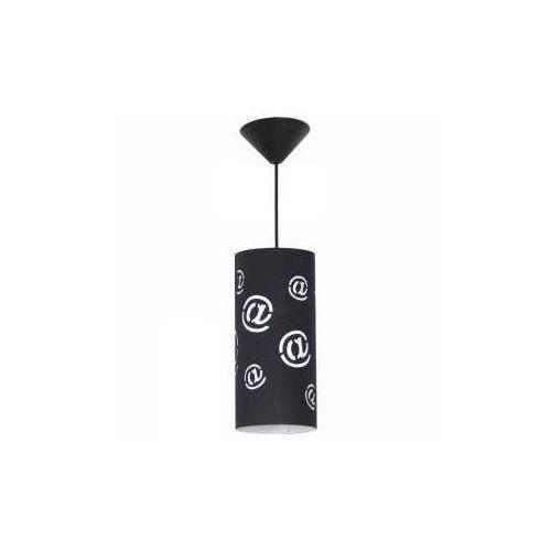 Aldex Lampa wisząca zwis oprawa mail 1x40w e14 czarny 703g/1/m (5904798627430)