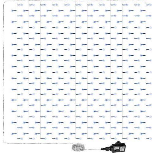 Kurtyna świetlna zwisające sople lampki 3x3m 300 białych diod - zimna biel / 3x3m / 300 led marki Voltronic ®