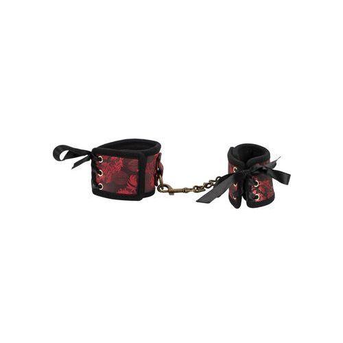 Bad kitty Kajdanki w stylu azjatyckim z ozdobnym sznurowaniem | 100% dyskrecji | bezpieczne zakupy (4024144349791)