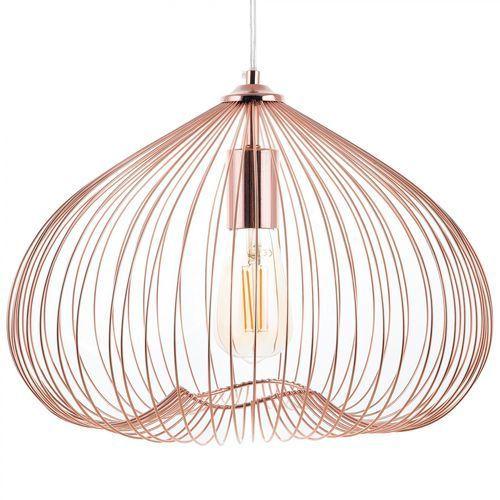 Beliani Lampa wisząca miedziana metal tordino (4260586352375)