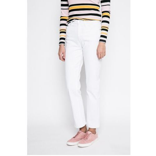 Calvin klein jeans - jeansy white wash