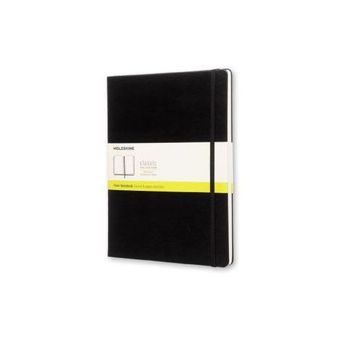 Notes xl (19x25cm) gładki, czarna twarda oprawa, 192 strony marki Moleskine