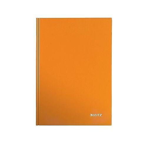 Leitz Brulion w kratkę a5 80k. wow, pomarańczowy 46281044