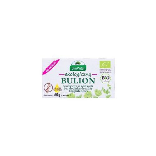 Bulion warzywny w kostkach bez drożdży, bez oleju palmowego bezgl. bio 60 g eko wital marki Ekowital