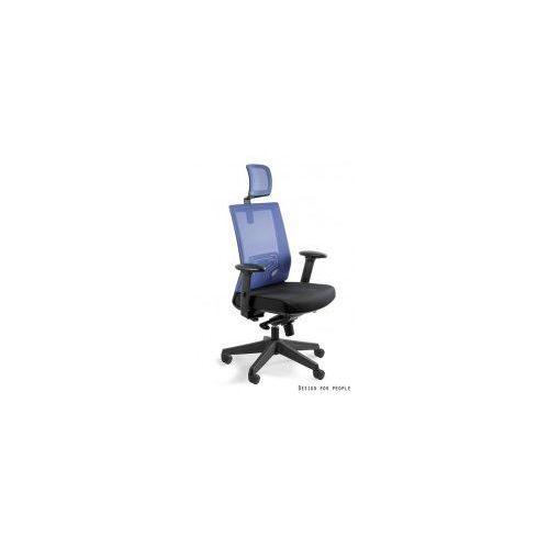 Krzesło biurowe nez niebieskie marki Unique meble