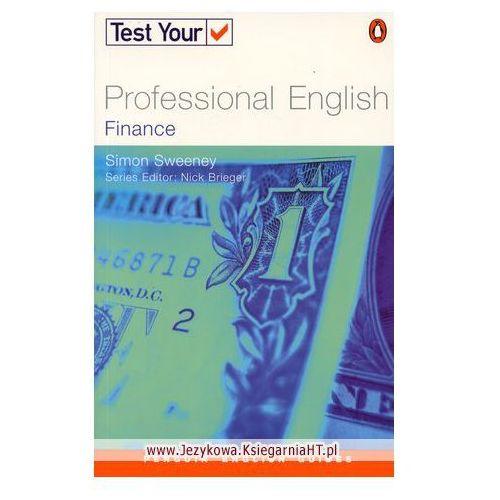 Penguin English Guides Test Your Professional English Finance, Sweeney Simon