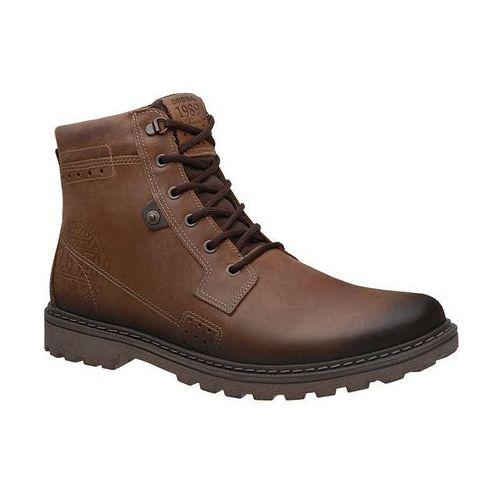 Trzewiki trekkingowe 581001-05 xxl cravo brązowe męskie - brązowy marki Pegada