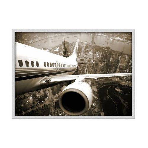 Obraz samolot 70 x 50 cm marki Knor