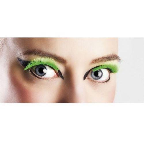 Rzęsy zielone neon - przebrania i dodatki dla dorosłych marki Aster