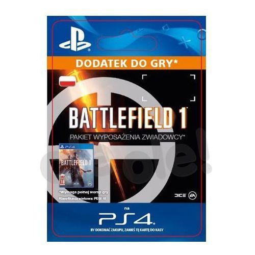 Battlefield 1 - pakiet wyposażenia zwiadowcy [kod aktywacyjny] marki Sony