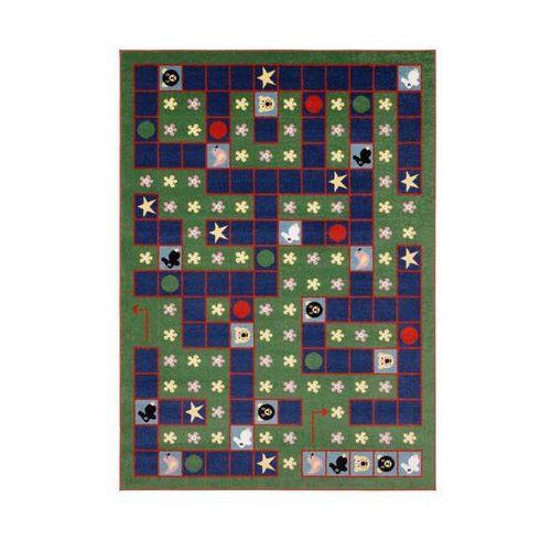 Dywan dziecięcy goal zielony 200 x 280 cm marki Agnella