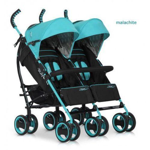 Wózek bliźniaczy duo comfort malachite marki Easygo