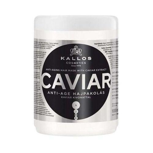 KALLOS KJMN Caviar rewitalizująca maska do włosów z ekstraktem z kawioru 1000ml