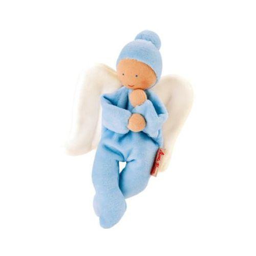 Käthe kruse KÄthe kruse organic welurowa lalka aniołek kolor jasnoniebieski (4030936258240)