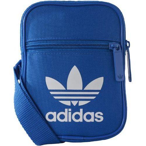 Torba adidas Trefoil Festival Bag BK6729, kolor niebieski