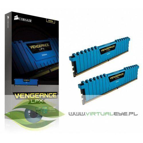 Corsair DDR4 Vengeance LPX 16GB /3000 (2*8GB) BLUE CL15-17-17-35, CMK16GX4M2B3000C15B