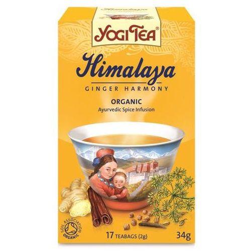 Yogi tea, usa Herbata himalaya bio (yogi tea) 17 saszetek po 2g, kategoria: pozostała herbata
