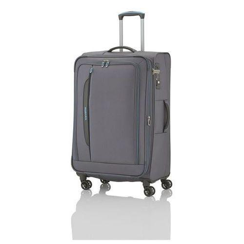 Travelite crosslite walizka duża 102/115l anthrazit 4-koła