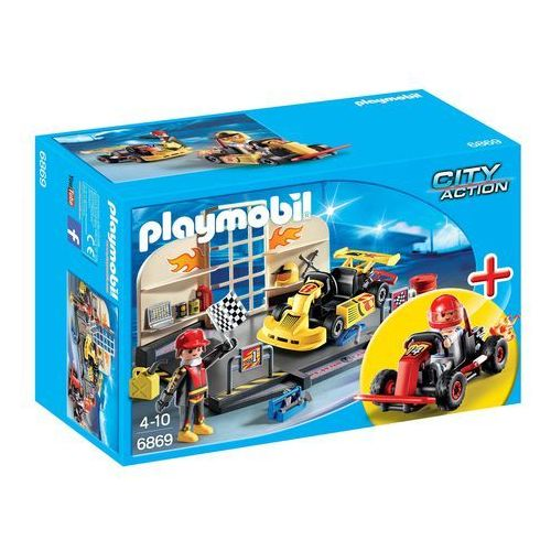 Playmobil CITY ACTION Warsztat gokartowy 6869