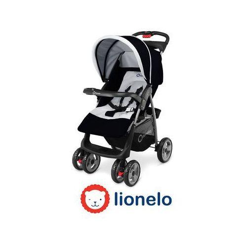 - wózek spacerowy emma - czarny - 50450 marki Lionelo