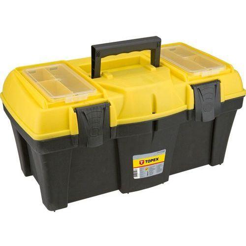 Skrzynka narzędziowa 79r126 z organizerami (53 x 24 x 26 cm) + zamów z dostawą jutro! marki Topex