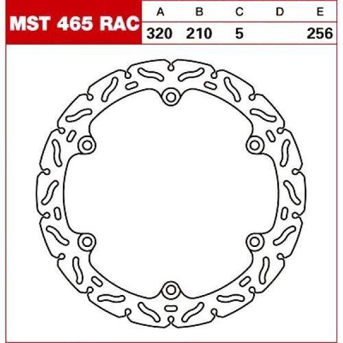 TRW Tarcza hamulcowa MST465RAC HONDA CB 500 CBR 65