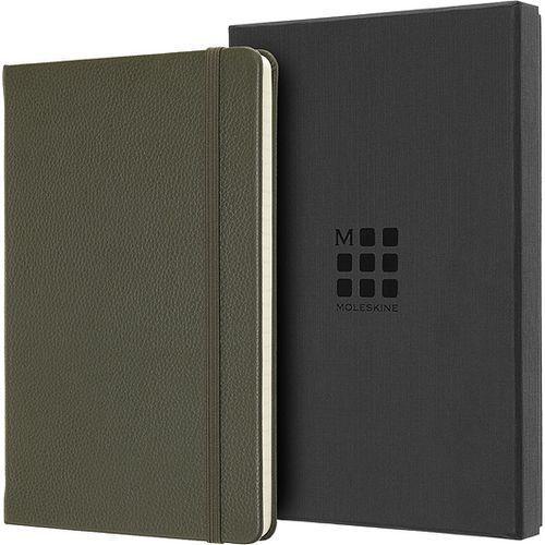 Moleskine Notes okładka skórzana edycja limitowana l w linię moss green (8058647620695)