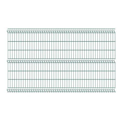 Polargos Panel ogrodzeniowy 123 x 250 cm oczko 5 x 20 cm zielony (5903427777850)