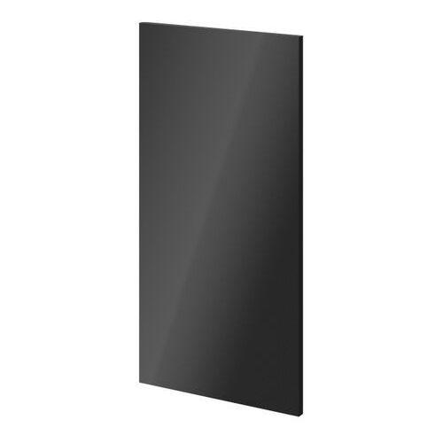 Drzwi do korpusu 37,5 x 75 cm GoodHome Atomia antracyt połysk