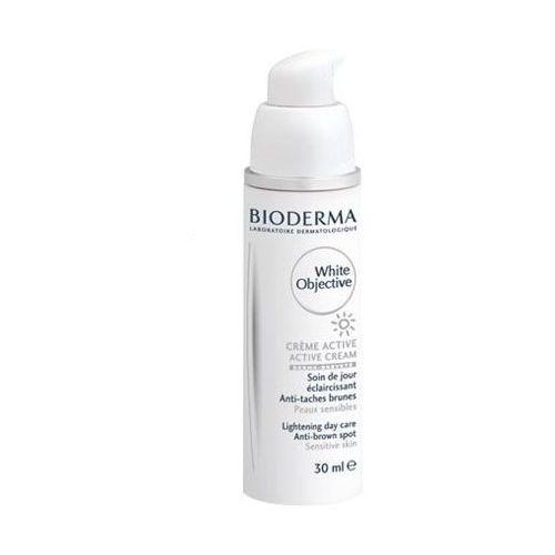 white objective h2o krem aktywny na przebarwienia do sk wrażliwej 30ml marki Bioderma