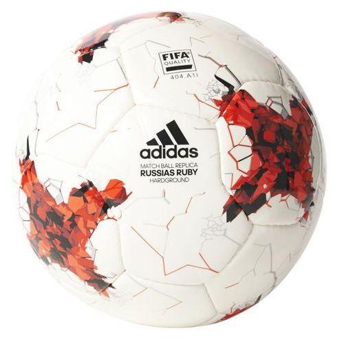 Adidas Piłka nożna  krasava confederation hardground az3192 biało-czerwona