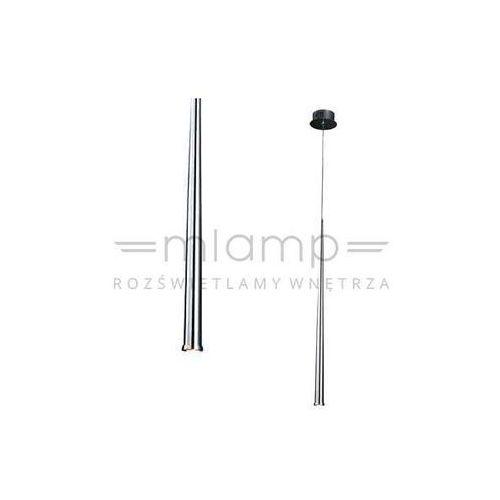 Lampa wisząca asta i metalowa oprawa zwis led 3w 3000k sopel brina stylo chrom marki Orlicki design
