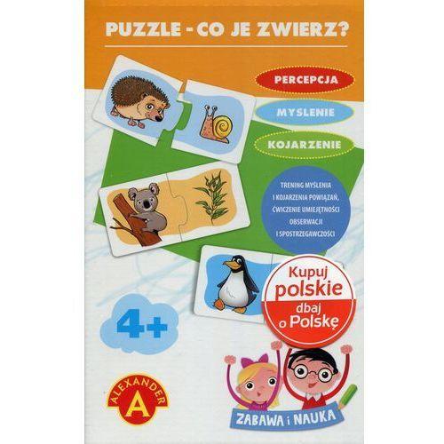 Puzzle Co je zwierz? (5906018018301)