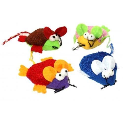Zabawka dla kotów czyli mysz dla kota - różne kolory marki Happypet