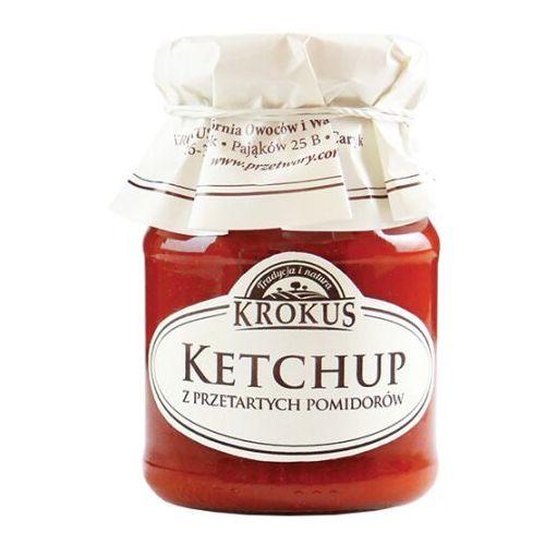 Krokus 180g ketchup z przetartych pomidorów tradycyjna receptura