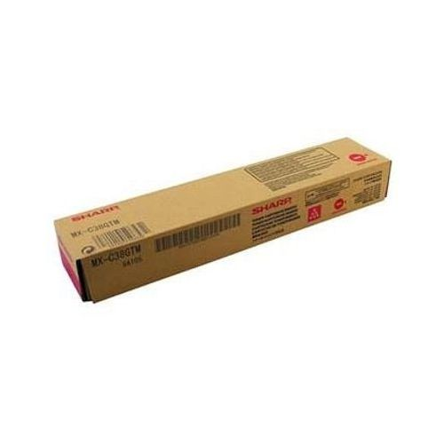Toner Oryginalny Sharp MX-C38GTM (MXC38GTM) (Purpurowy) - DARMOWA DOSTAWA w 24h