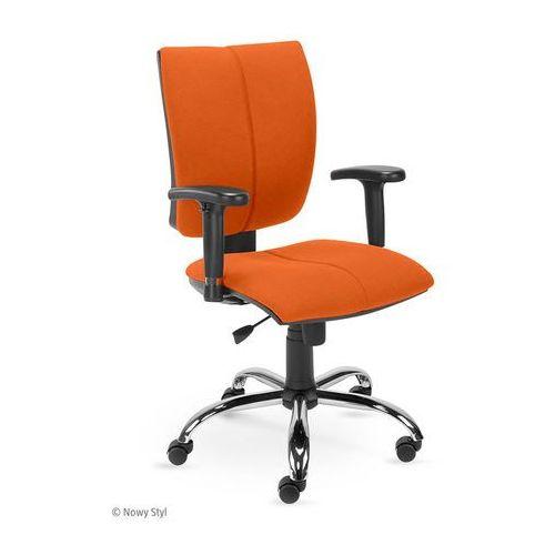 Krzesło obrotowe CINQUE R2C steel02 chrome, Nowy Styl