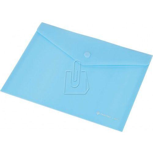 Teczka kopertowa A5 Panta Plast C4534 na zatrzask niebieska, 29537