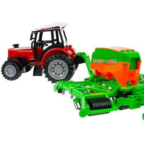Zestaw dwóch ciągników + maszyny dla małego farmera marki Kindersafe