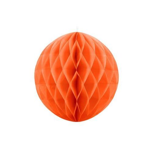 Dekoracja wisząca kula pomarańczowa - 40 cm - 1 szt. marki Party deco