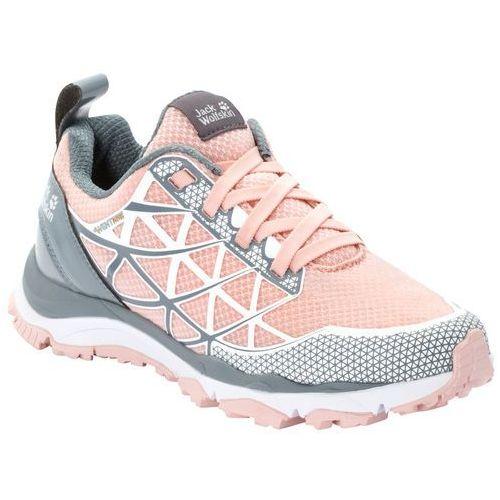 Jack wolfskin Buty sportowe damskie trail blaze vent low w light pink / grey - 7,5