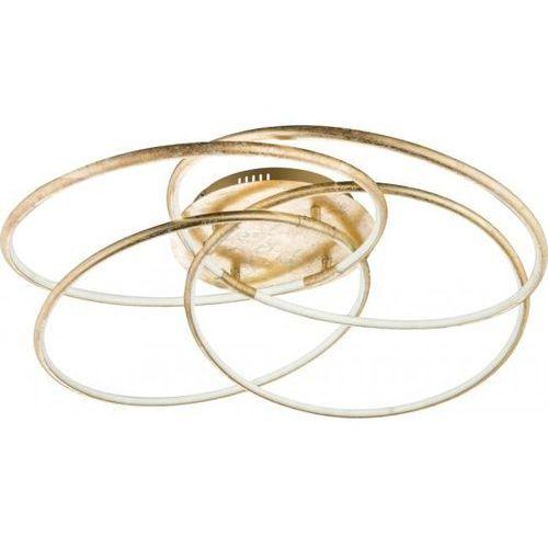 Globo barna lampa sufitowa led złoty, 1-punktowy - purystyczny - obszar wewnętrzny - barna - czas dostawy: od 6-10 dni roboczych marki Globo lighting