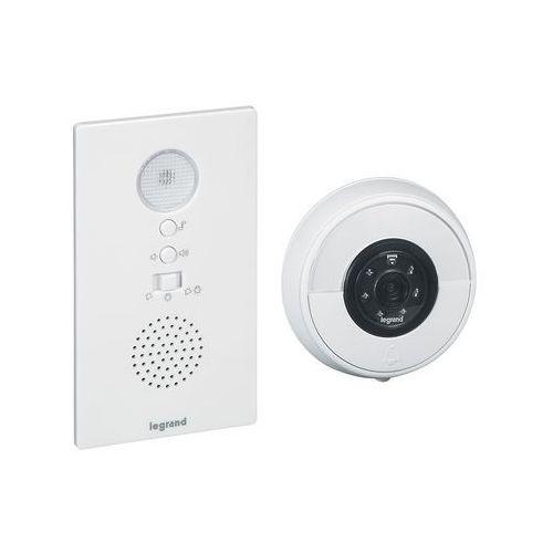 Legrand 94232 - zestaw bezprzewodowy dzwonek + wifi kamera eliot biały