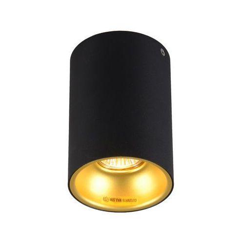 Zuma line Plafon deep sl 89313 lampa sufitowa spot 1x50w gu10 czarny/złoty + żarówka led za 1 zł gratis! >>> rabatujemy do 20% każde zamówienie!!! (2011003611177)