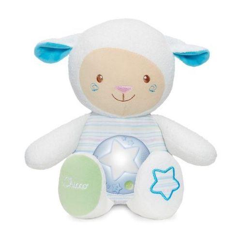Owieczka z nocną lampką niebieska marki Chicco