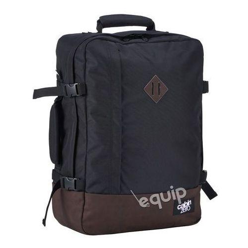 Plecak torba podręczna CabinZero Vintage - absolute black, kolor czarny