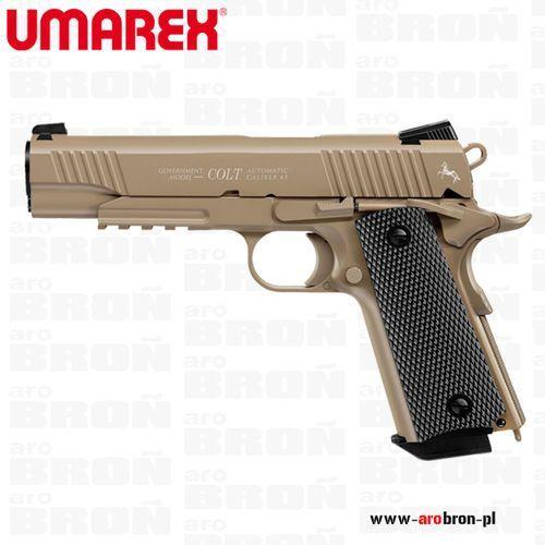 Umarex Pistolet wiatrówka colt m45 cqbp piaskowy 4,5 mm bb co2- metalowy zamek, system blow back, kategoria: pistolety