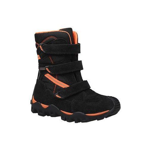 Bartek Trzewiki ocieplane śniegowce 94646-2/74g czarne - czarny ||pomarańczowy ||multikolor (5904699373658)