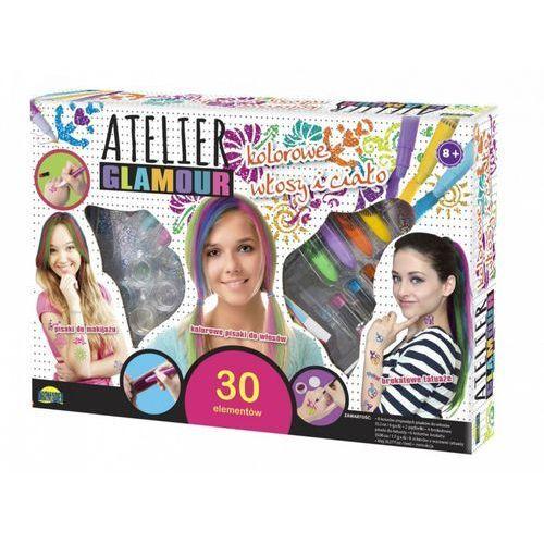 Atelier glamour, kolorowe włosy i ciało - marki Dromader